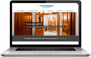 Stockholmsinbrottsskydd.se på Desktop